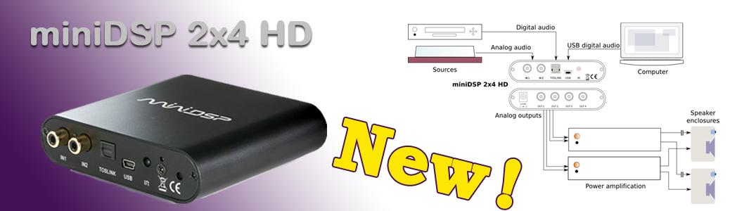 miniDSP 2x4 HD