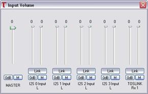 USBStreamer Boxドライバーソフト画面-1