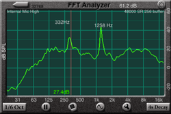 FFT画面例画像