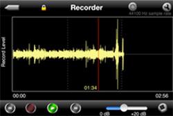 レコーディング画面例画像
